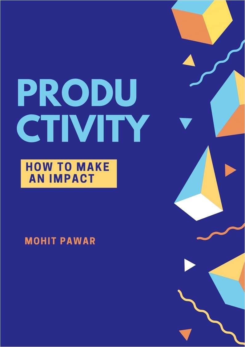 Productivity - How To Make an Impact