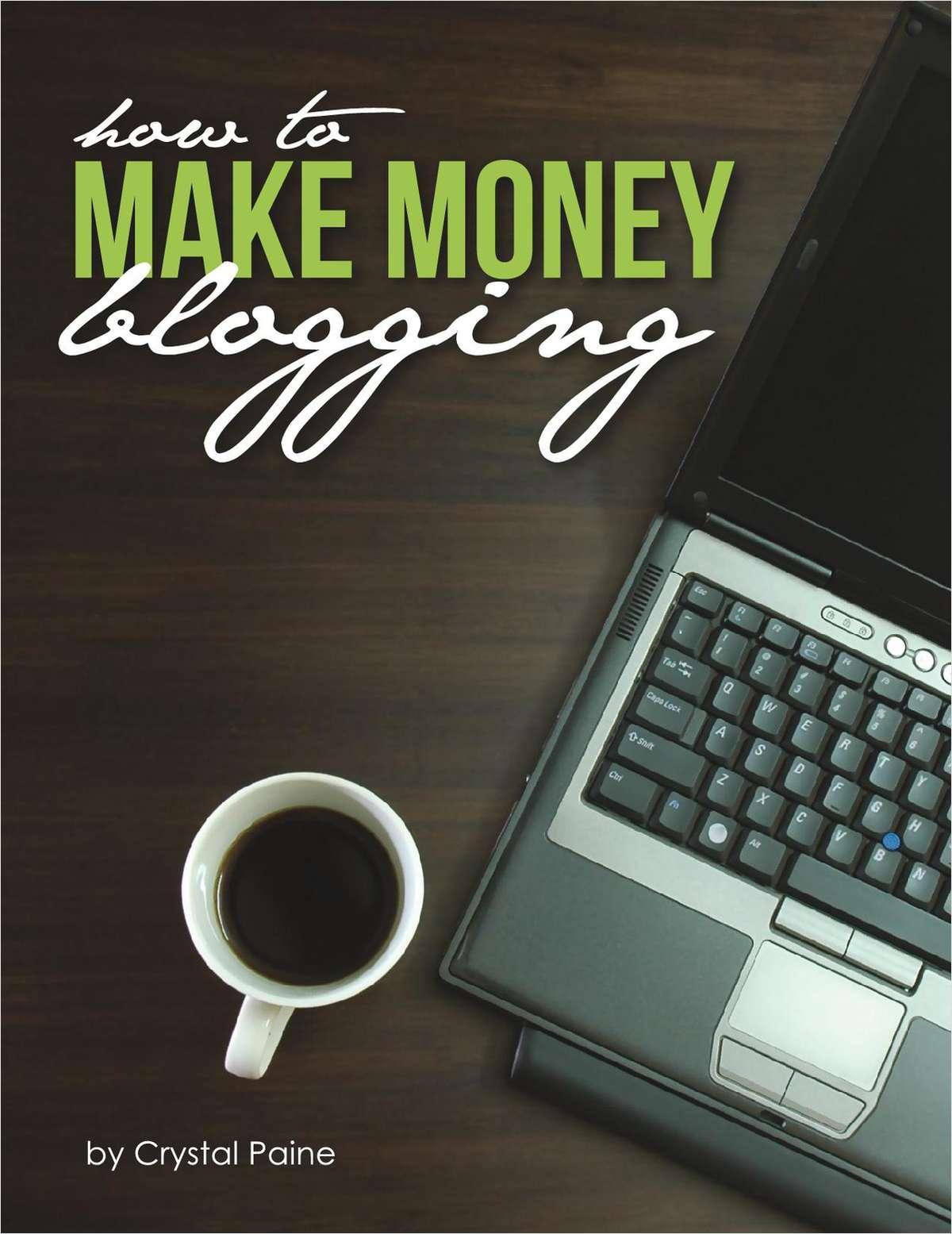 How to Make Money Blogging (Free eBook!)