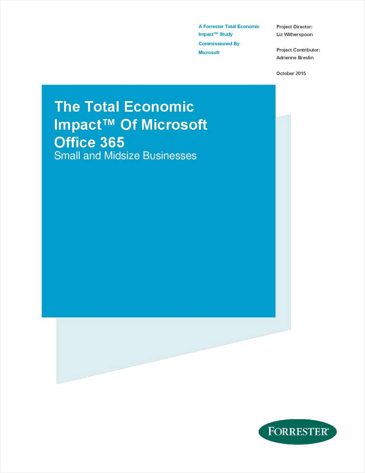 Forrester TEI Study