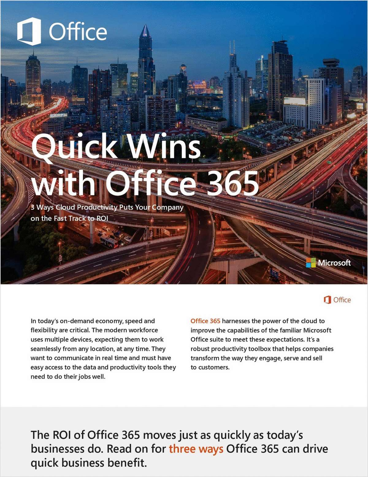 Quick Wins With Office 365