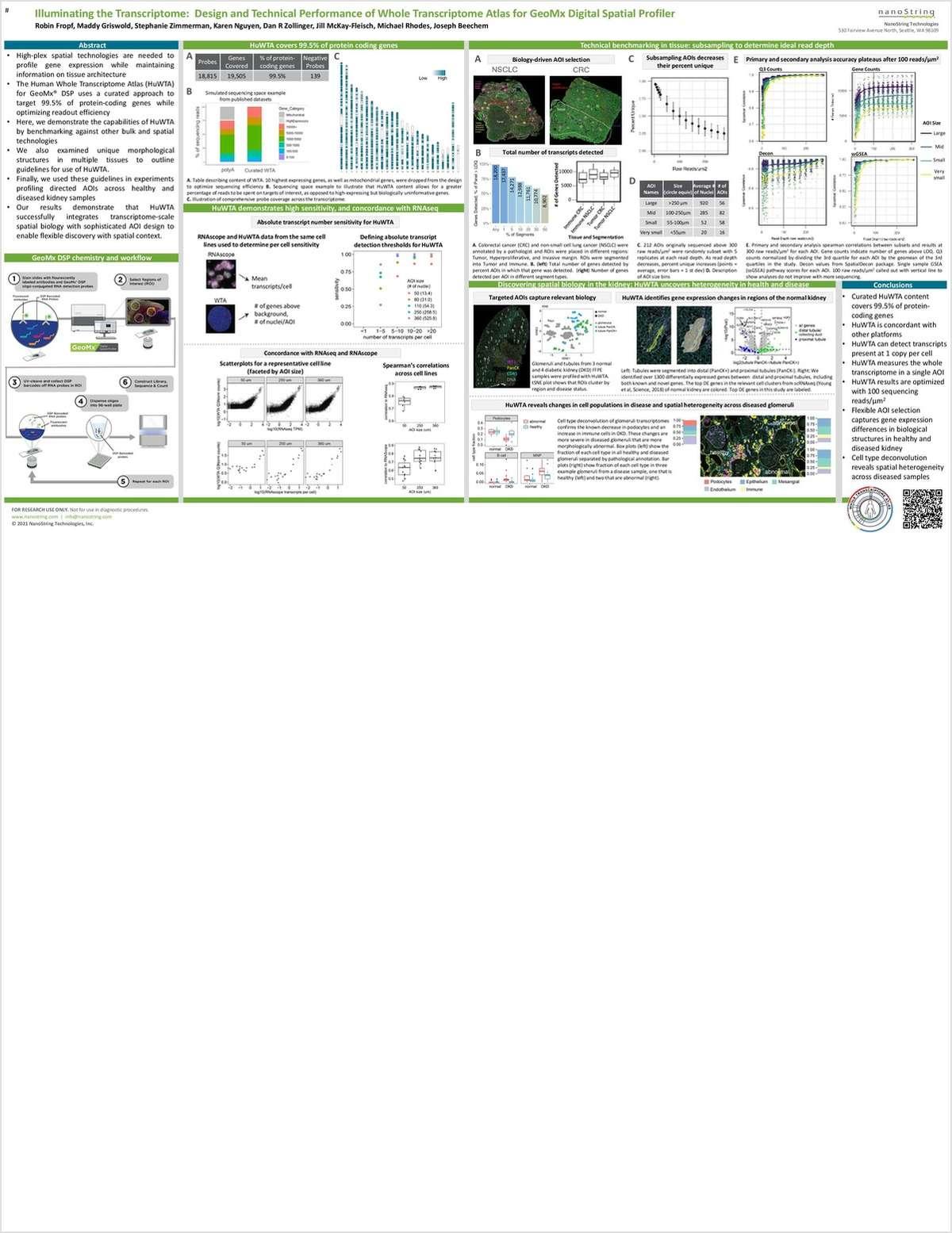Illuminating the Transcriptome: Design and Technical Performance of Whole Transcriptome Atlas for GeoMx Digital Spatial Profiler
