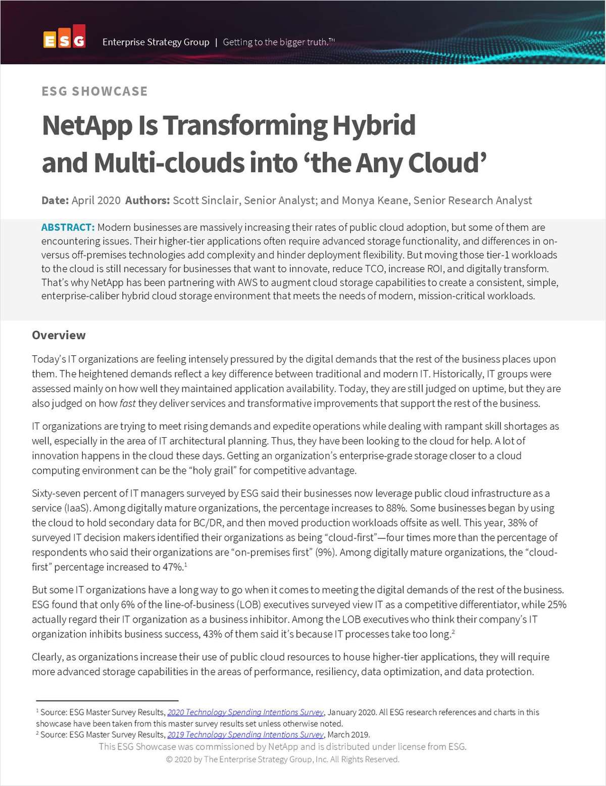 NetApp Is Transforming Hybrid and Multi-clouds into 'the Any Cloud'