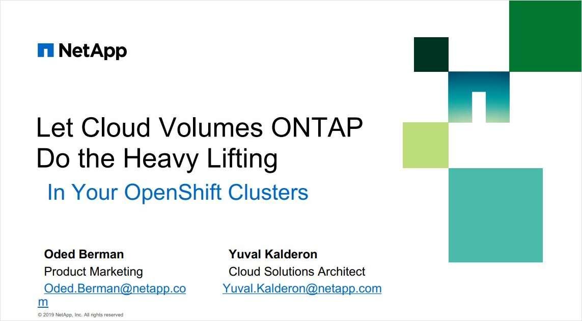 The Ultimate DevOps OpenShift Webinar