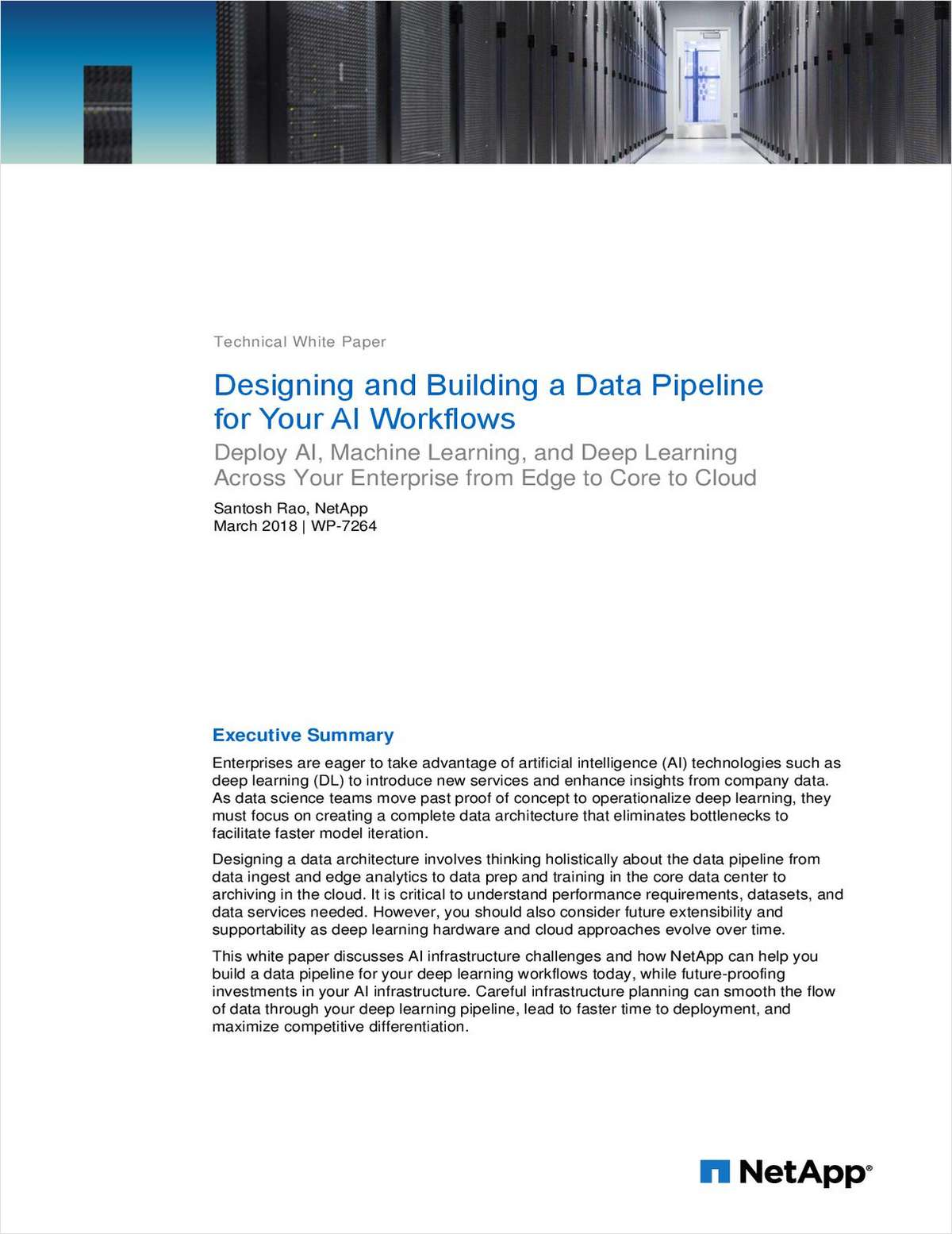 Designing and Building a Data Pipeline for Your AI Workflows, Free ...
