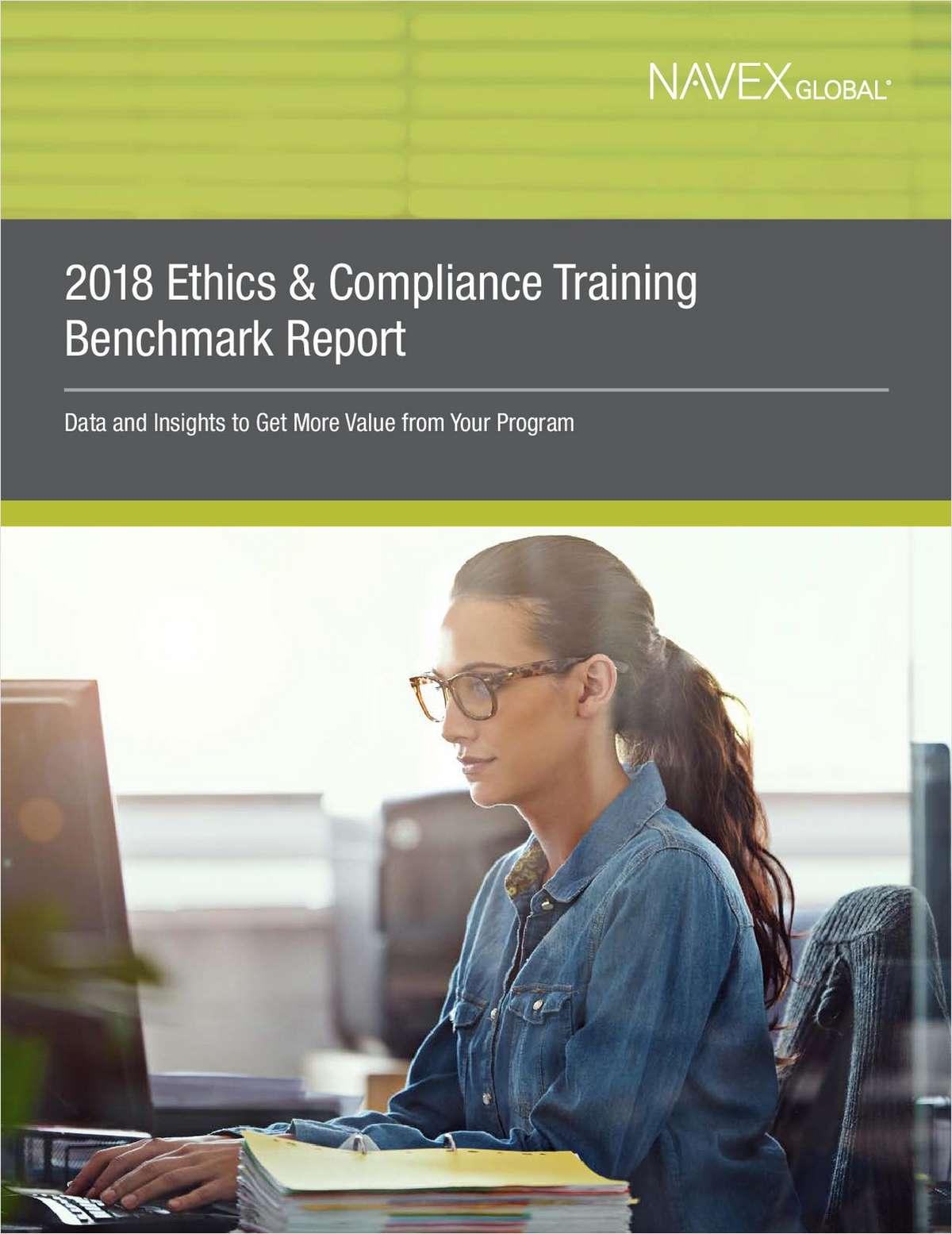 2018 Ethics & Compliance Training Benchmark Report