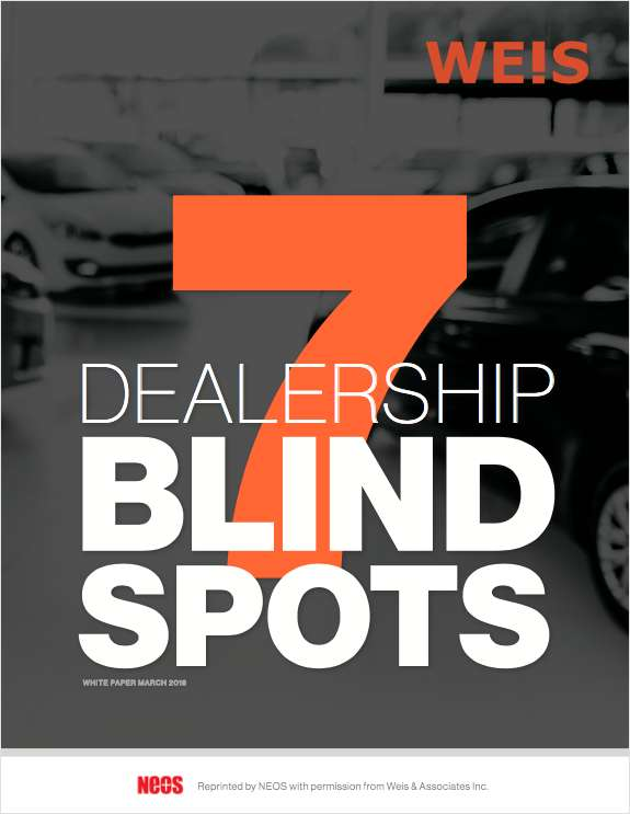 7 Blind Spots Missed by Dealership Owners & Managers