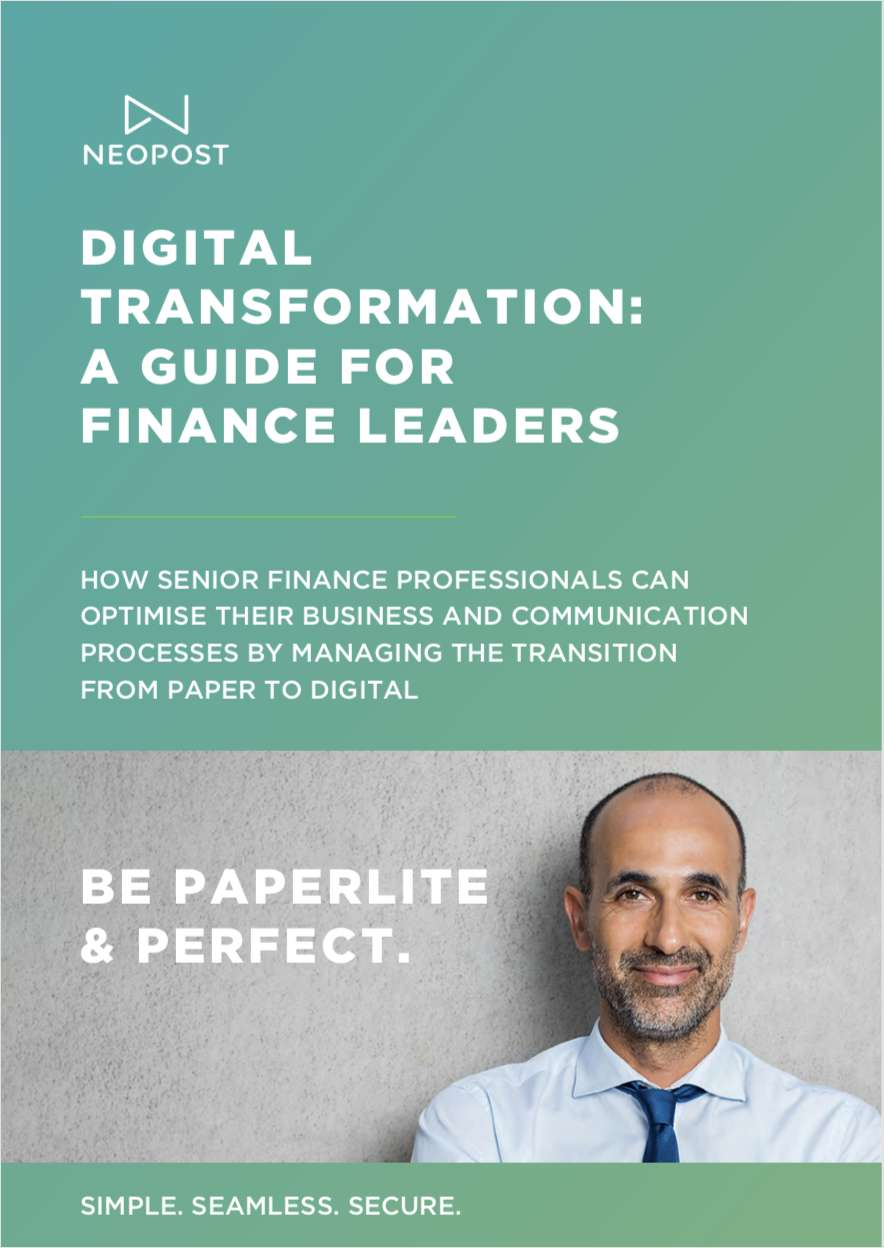 Digital Transformation: A Guide for Finance Leaders