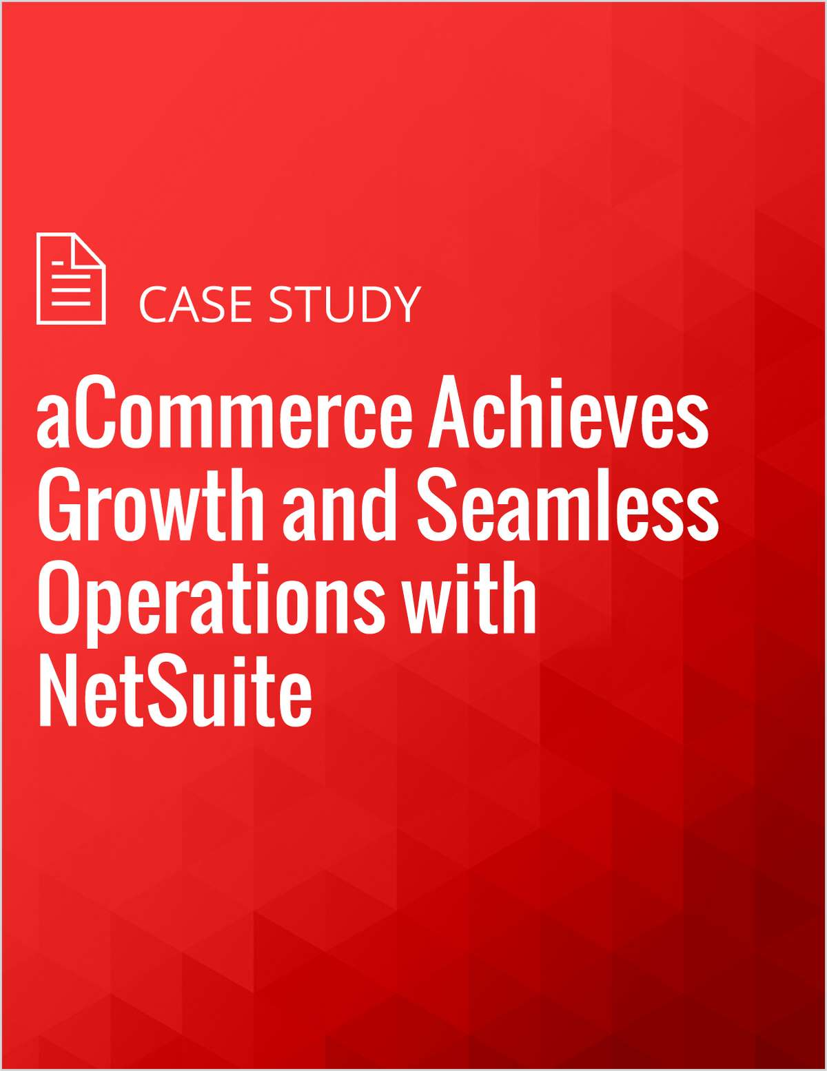 aCommerce Achieves Growth and Seamless Operations with NetSuite