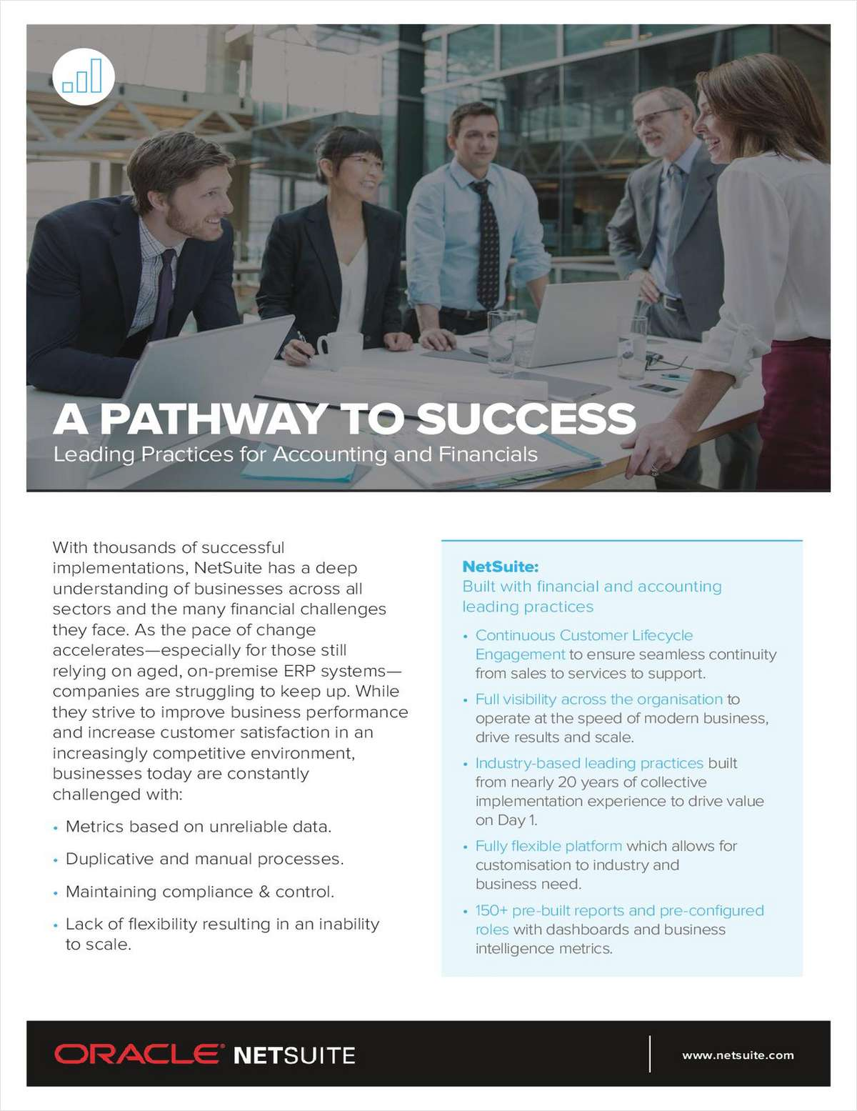 A Pathway to Success: Leading Practices for Accounting and Financials