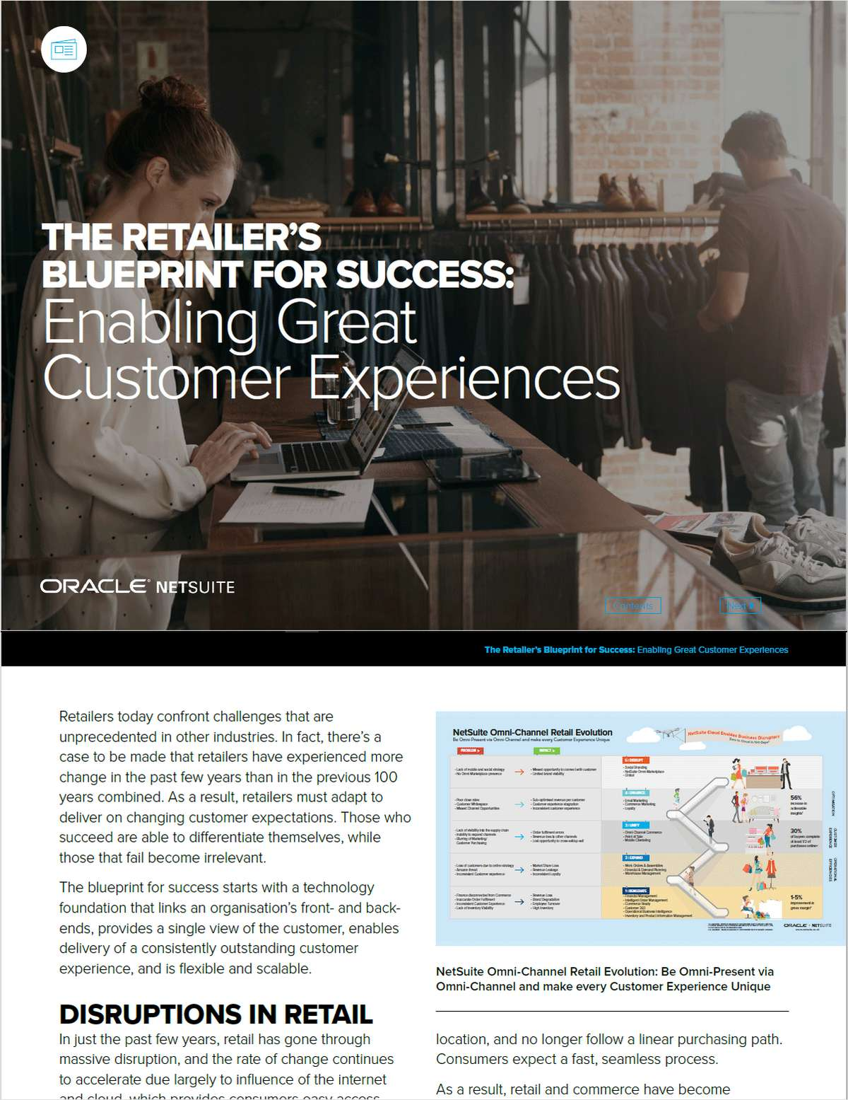 The Retailer's Blueprint for Success: Enabling Great Customer Experiences