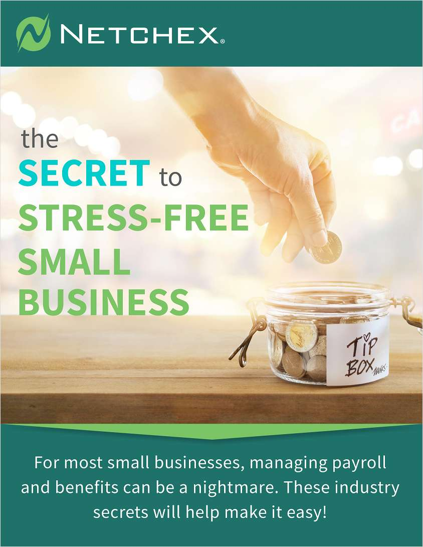 The Secret to Stress Free Small Business