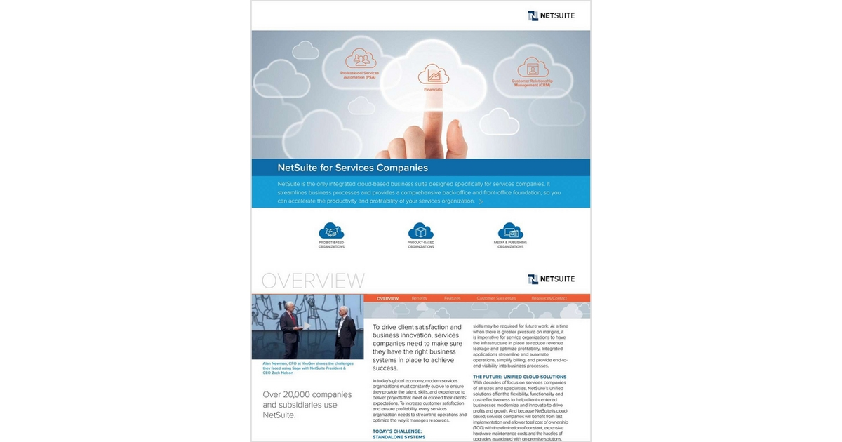 Netsuite for services companies free netsuite inc ebook for Netsuite document management
