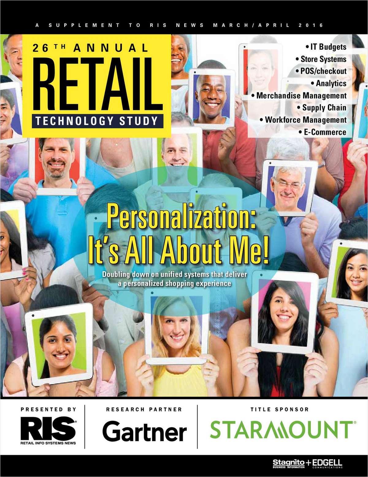 25th Annual RIS/Gartner Retail Technology Study