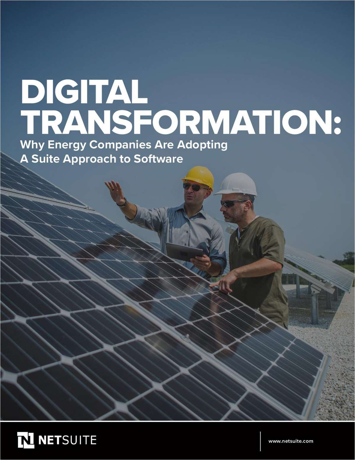 Digital Transformation: Why Energy Companies Are Adopting A Suite Approach to Software