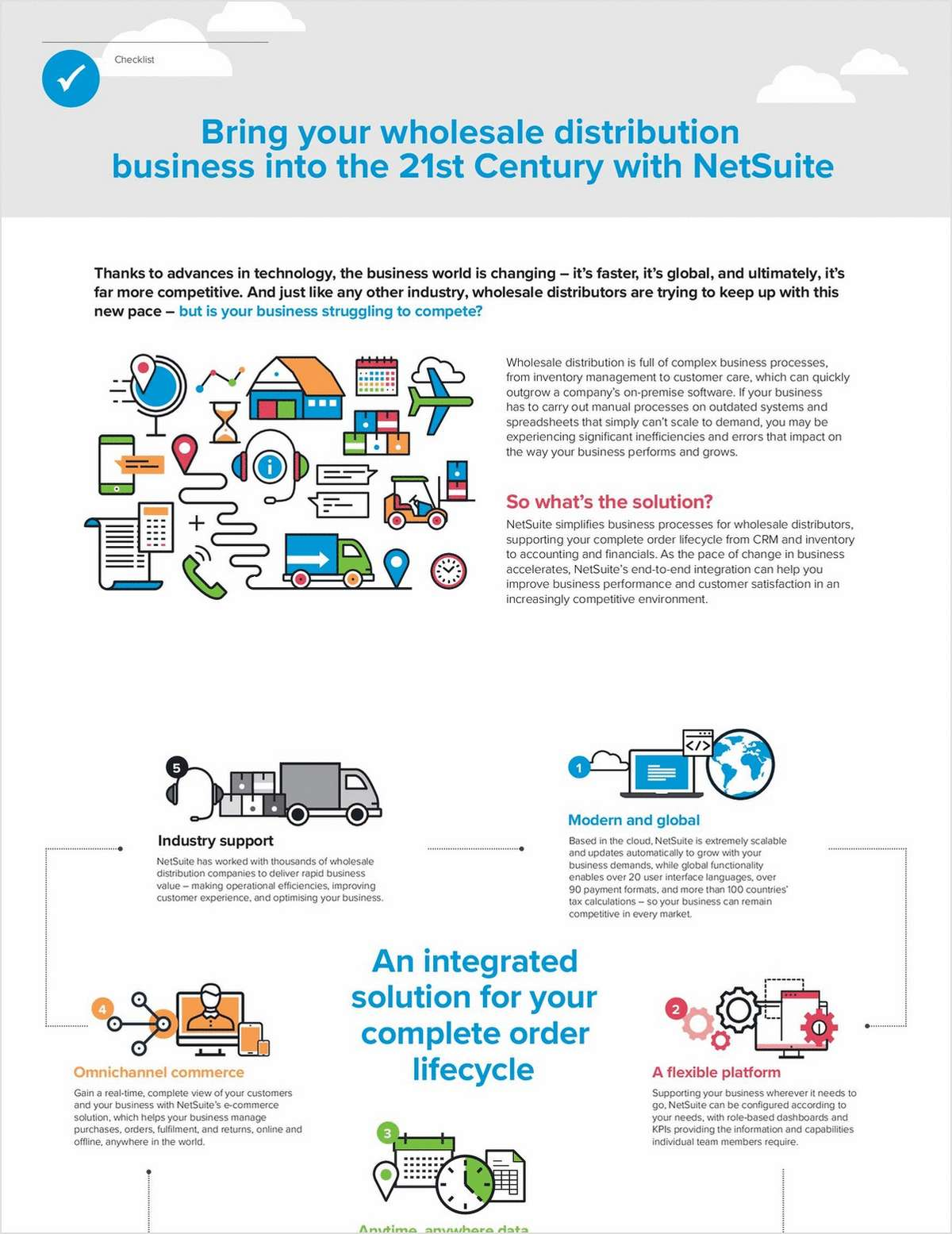 Bring your Wholesale Distribution Business into the 21st Century with NetSuite
