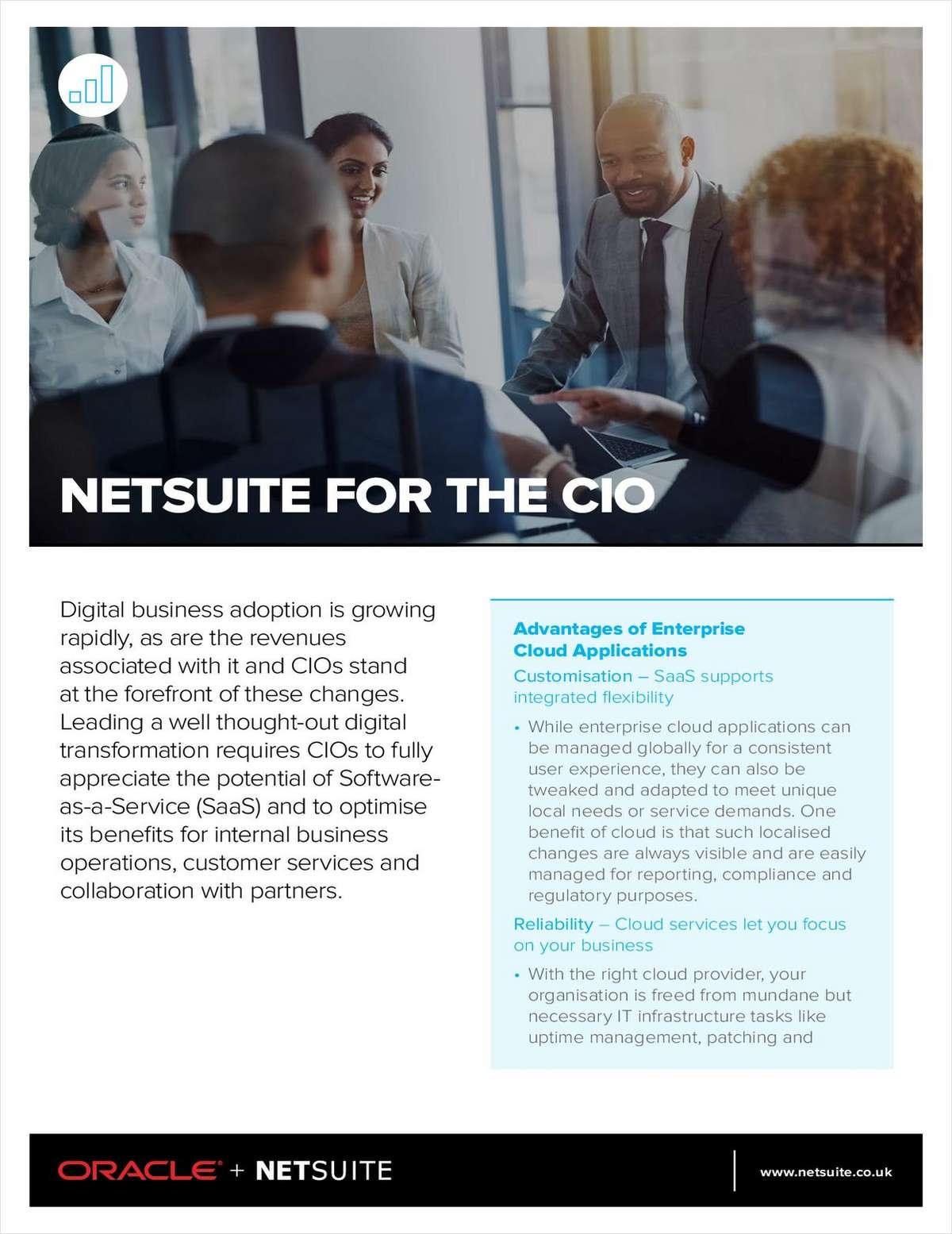 NetSuite for the CIO