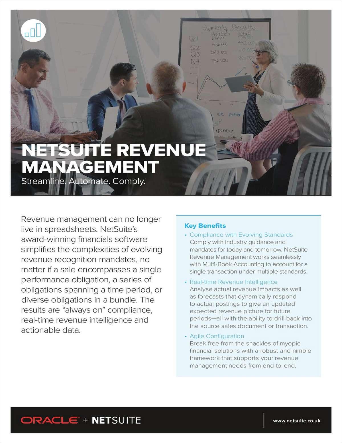 NetSuite Revenue Management