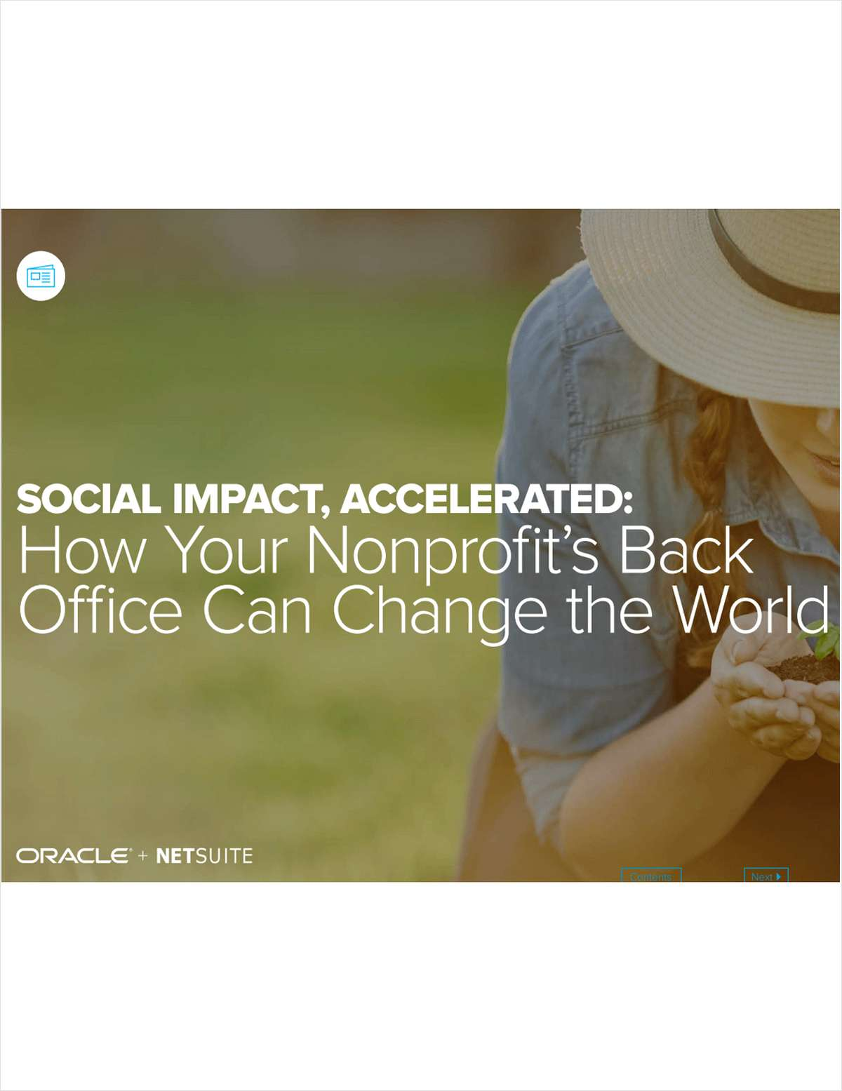 Social Impact Accelerated: How Your Nonprofit's Back Office Can Change The World