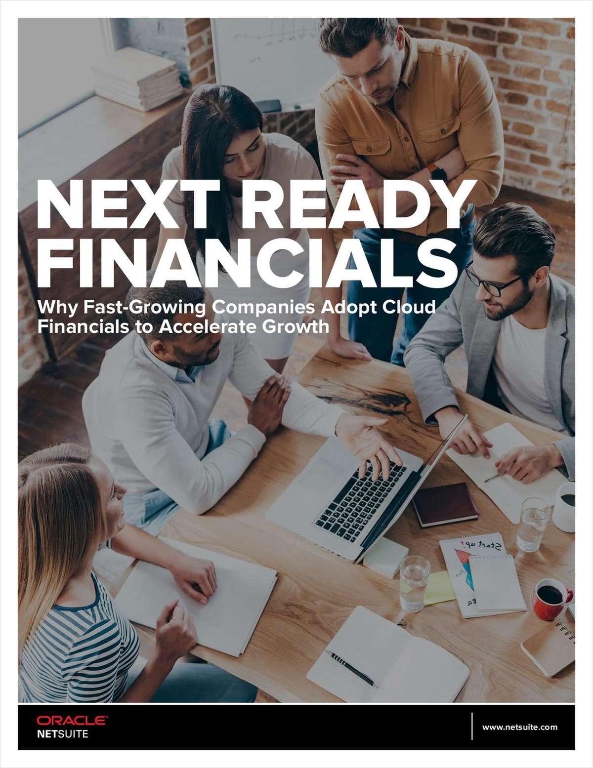 Next Ready Financials for Software & High Tech Businesses