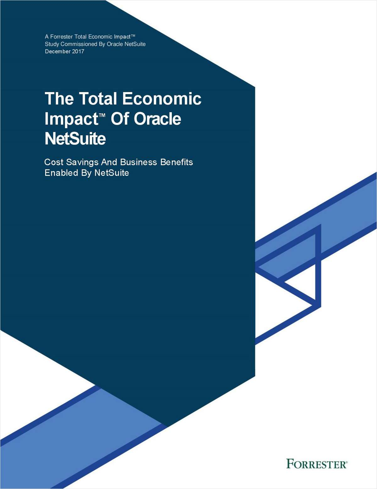 Forrester Total Economic Impact of Oracle+NS