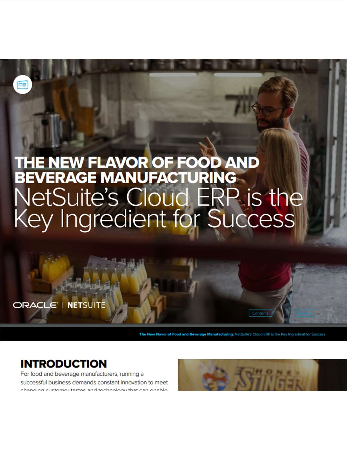 The New Flavor of Food and Beverage Manufacturing: NetSuite's Cloud ERP is the Key Ingredient for Success