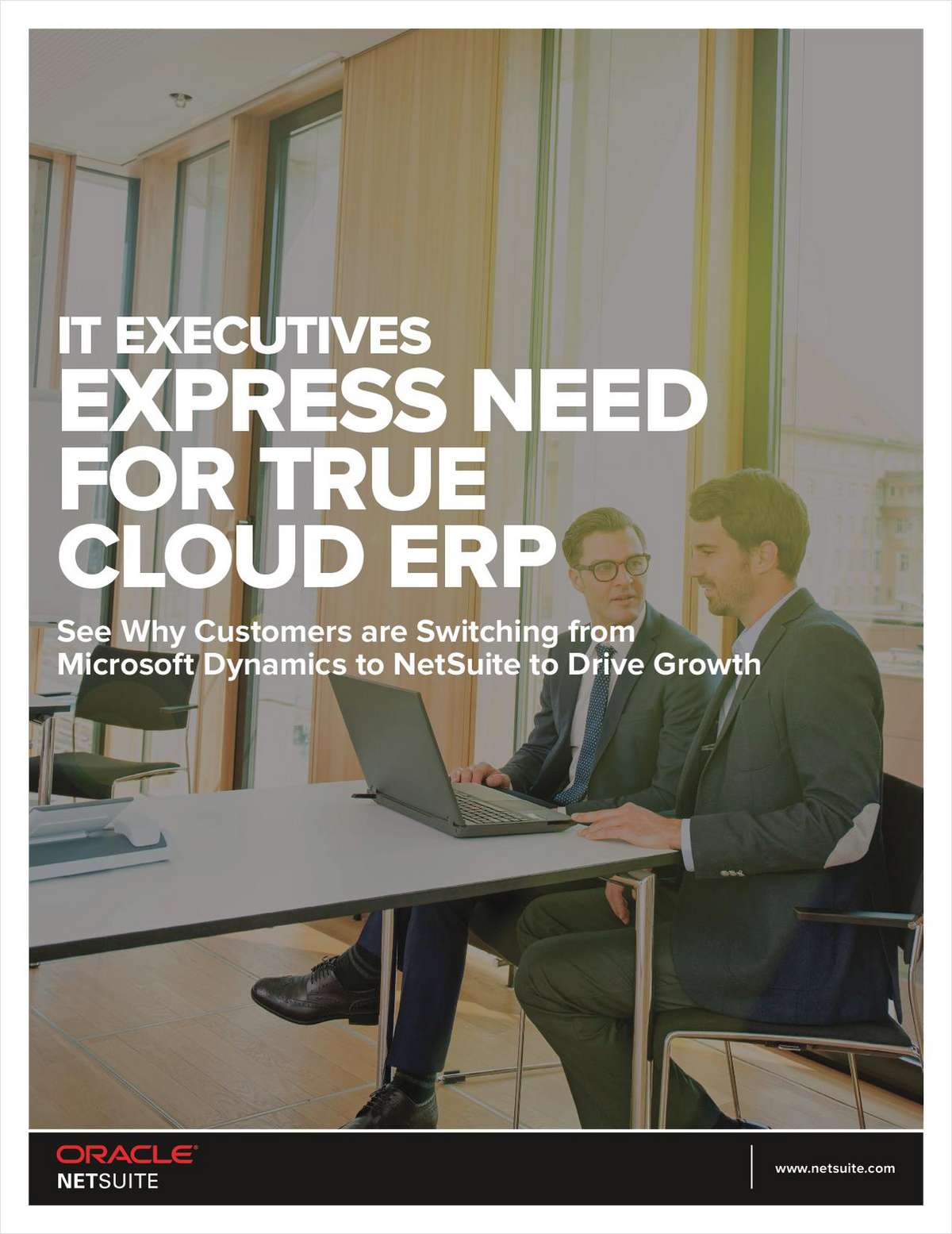 IT Executives Express Need for True Cloud ERP