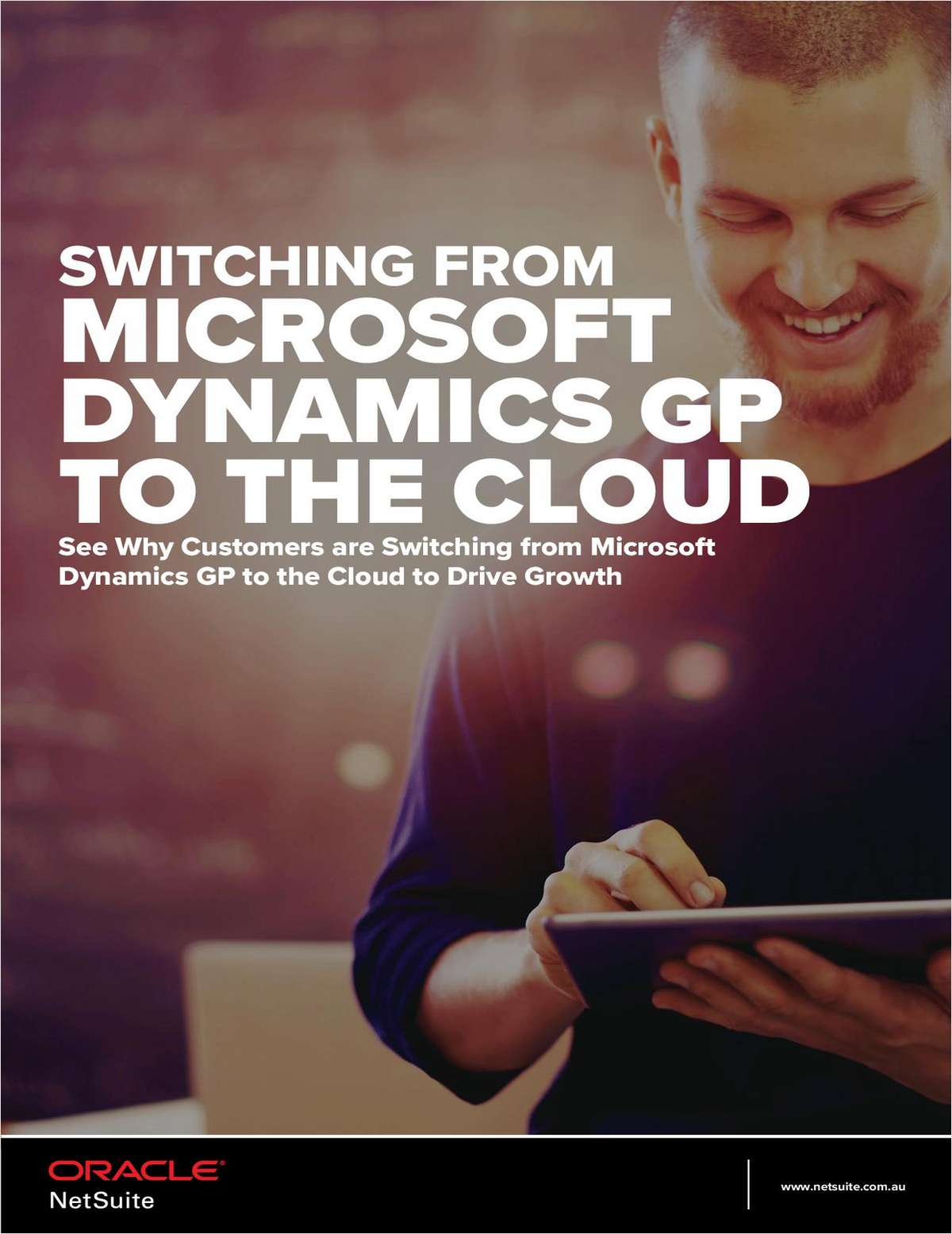 Drive Growth: Switch from Microsoft Dynamics GP to the Cloud