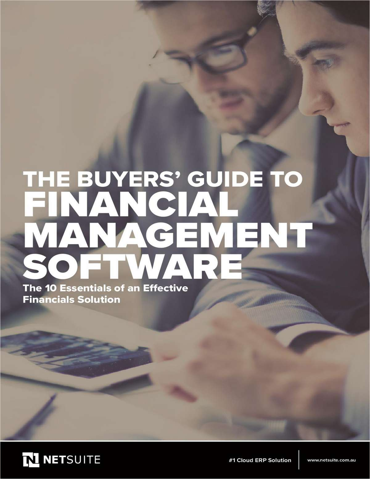 Financial Management Software Buyers Guide