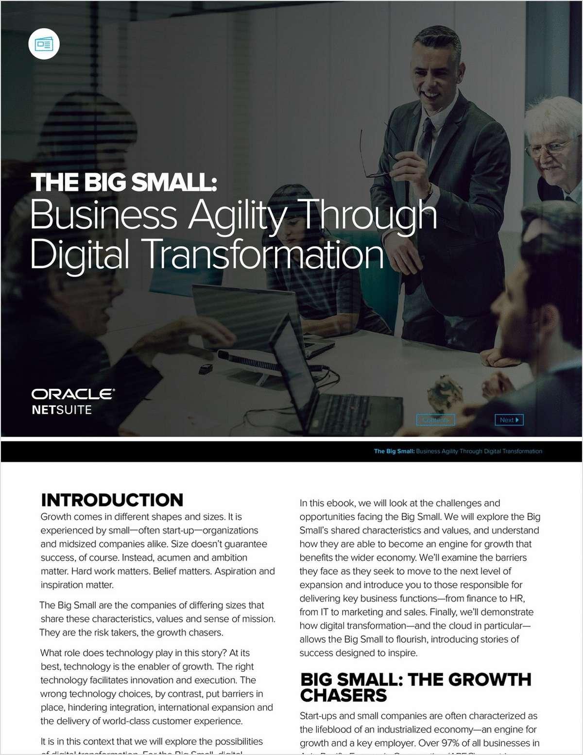 Business Agility through Digital Transformation