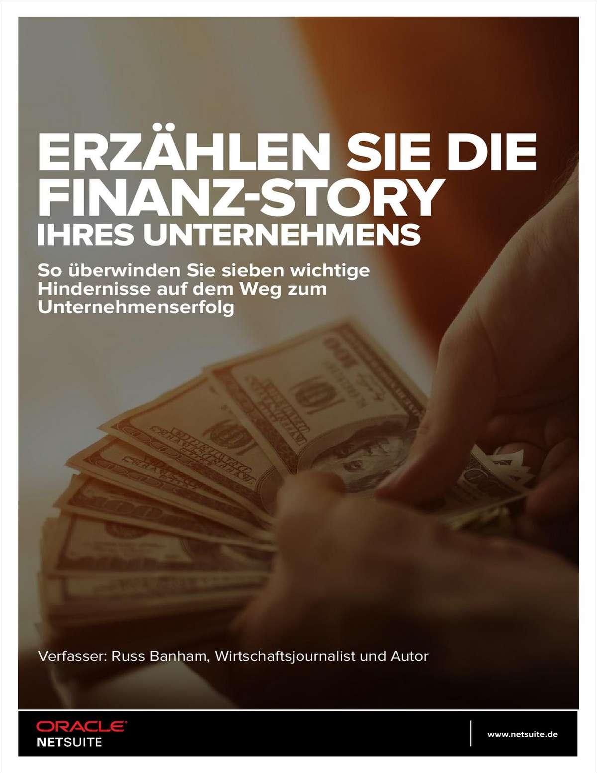 ERZÄHLEN SIE DIE FINANZ-STORY IHRES UNTERNEHMENS