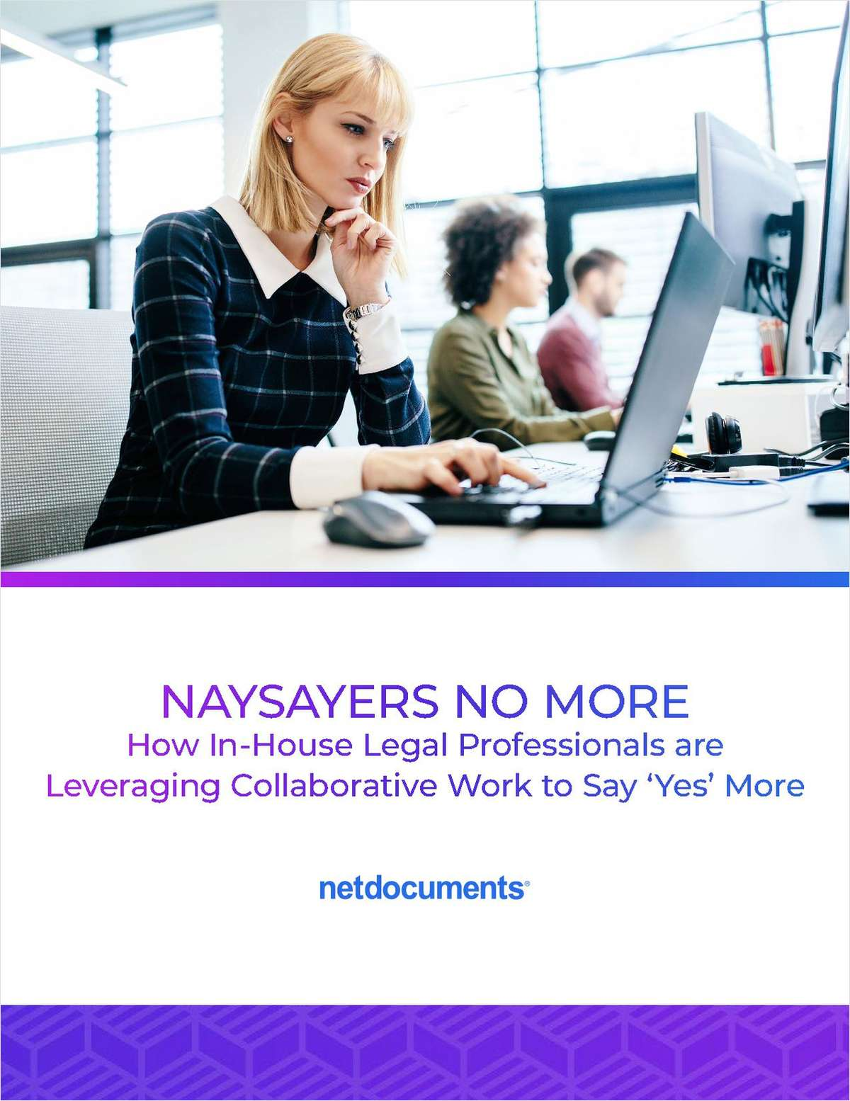 How In-House Legal Professionals are Leveraging Collaborative Work to Say 'Yes' More
