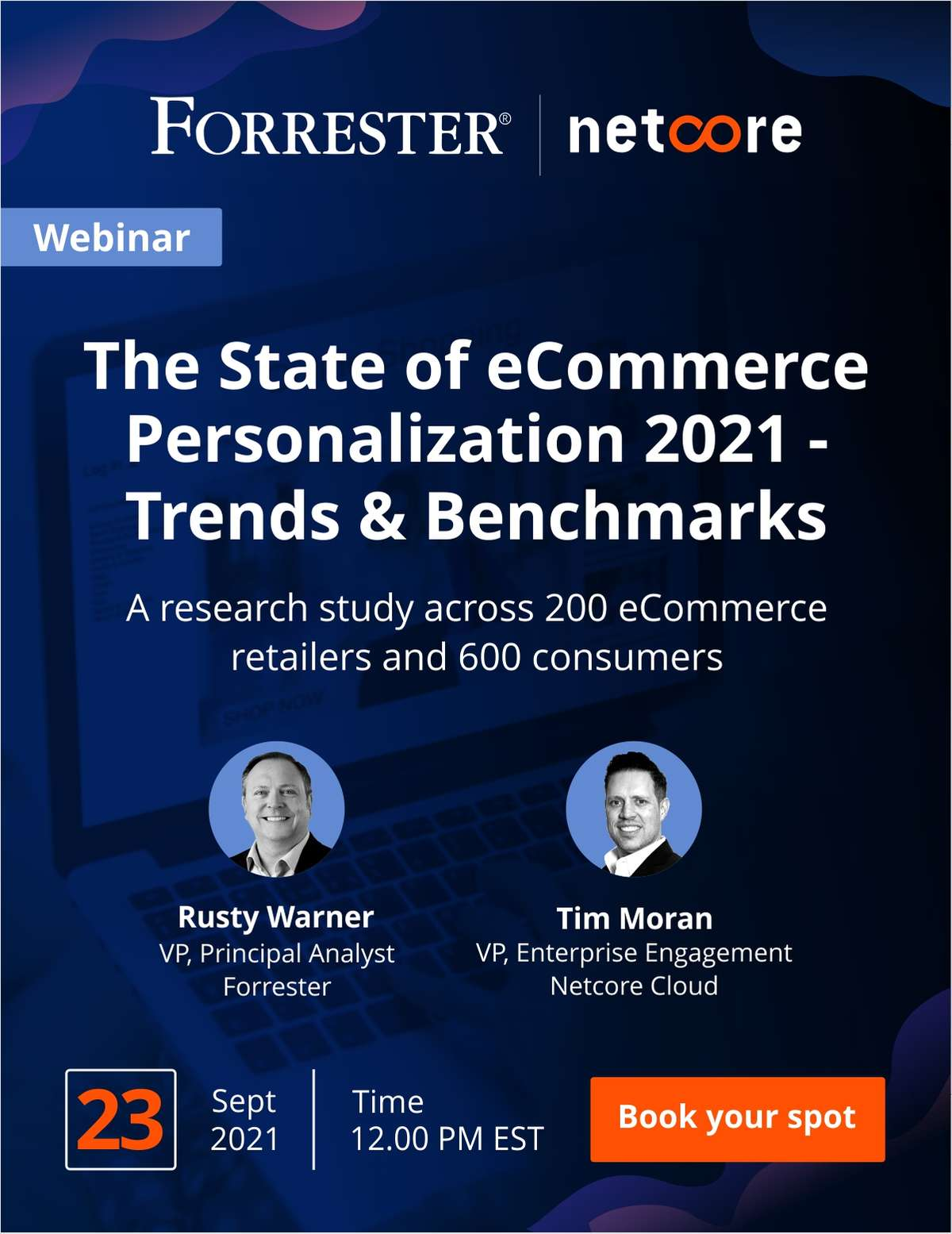 Forrester | Netcore Webinar: The State of eCommerce Personalization 2021 - Trends & Benchmarks