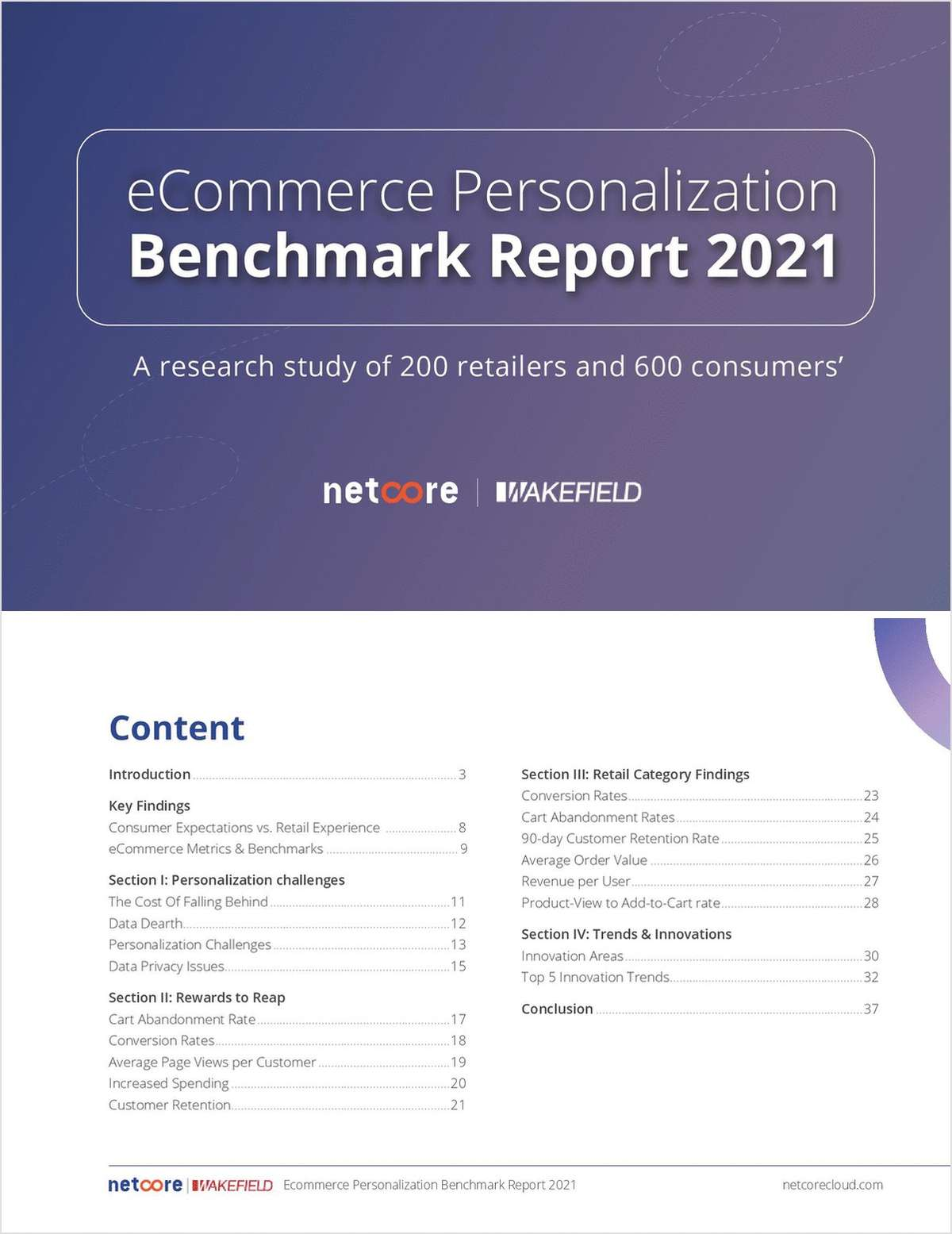 Ecommerce Personalization Benchmark Report 2021