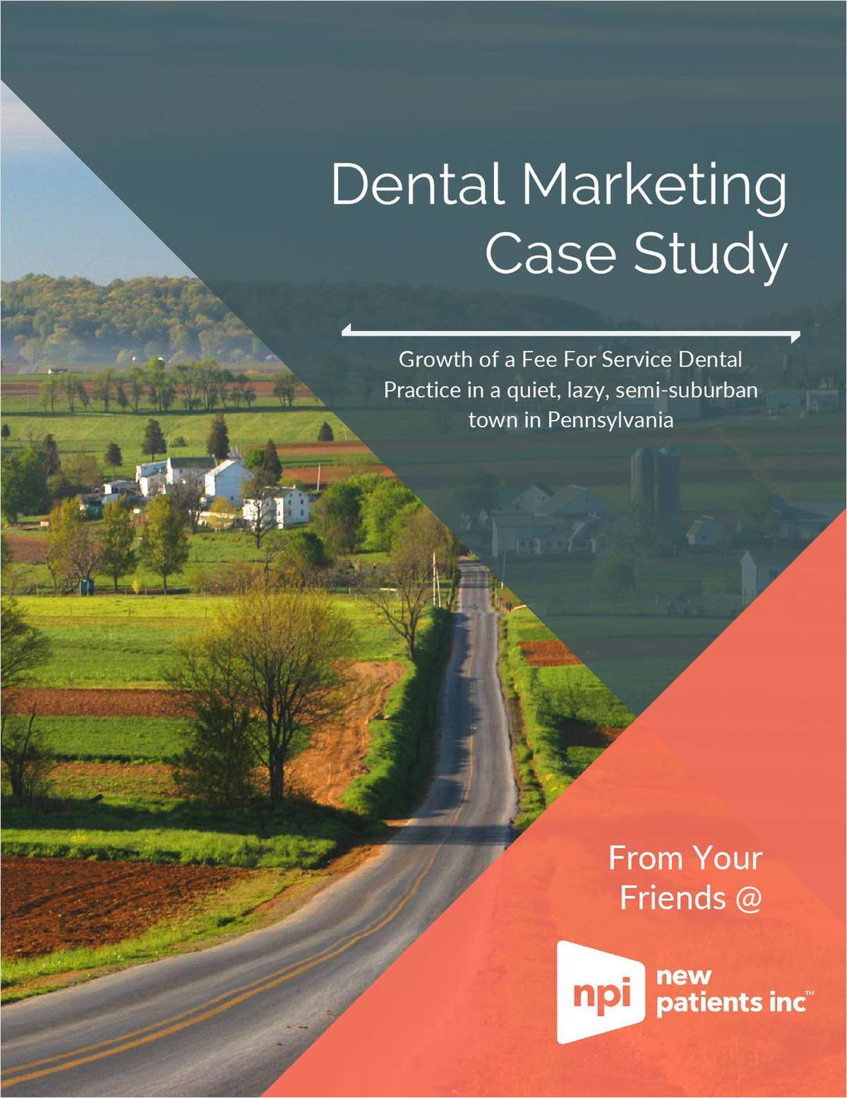 Growth of a fee for service dental practice in a quiet, lazy, semi-suburban town in Pennsylvania.