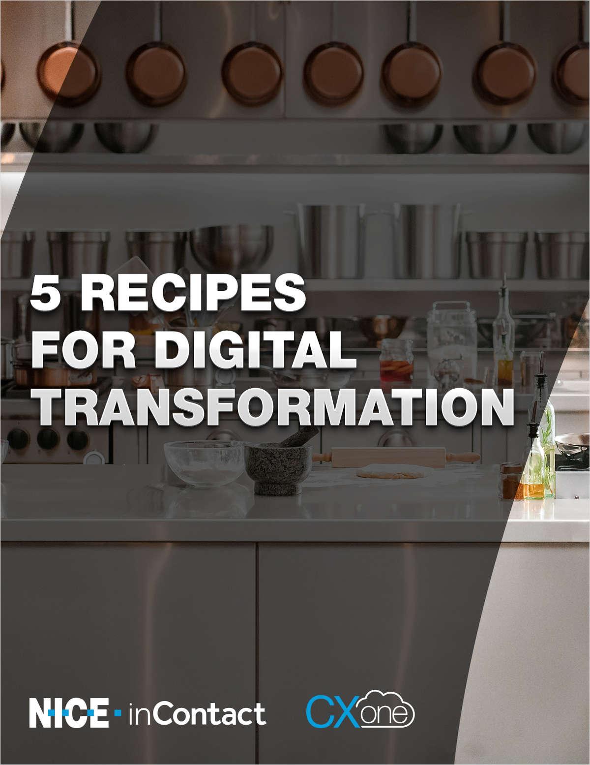 5 Recipes for Digital Transformation