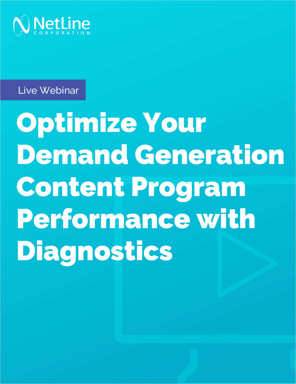 Webinar: How to Optimize Your Demand Generation Content Program Performance with Diagnostics