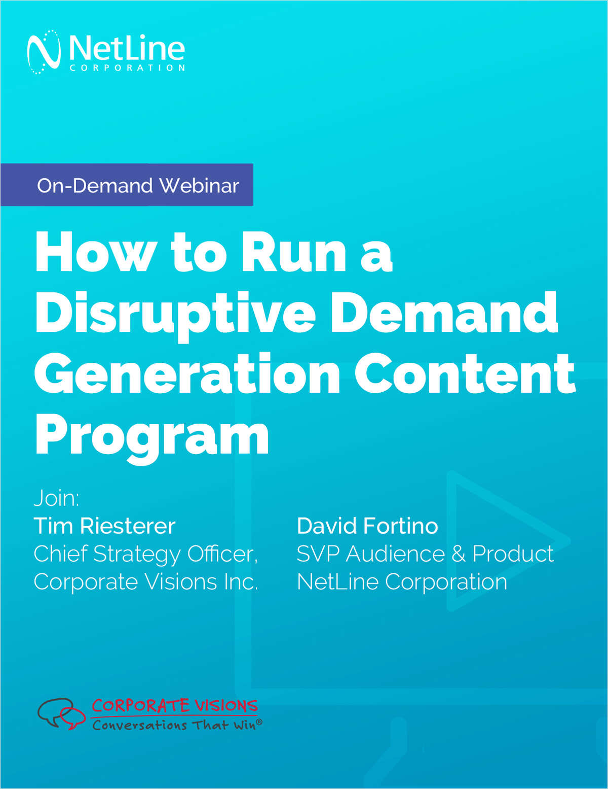 How to Run a Disruptive Demand Generation Content Program