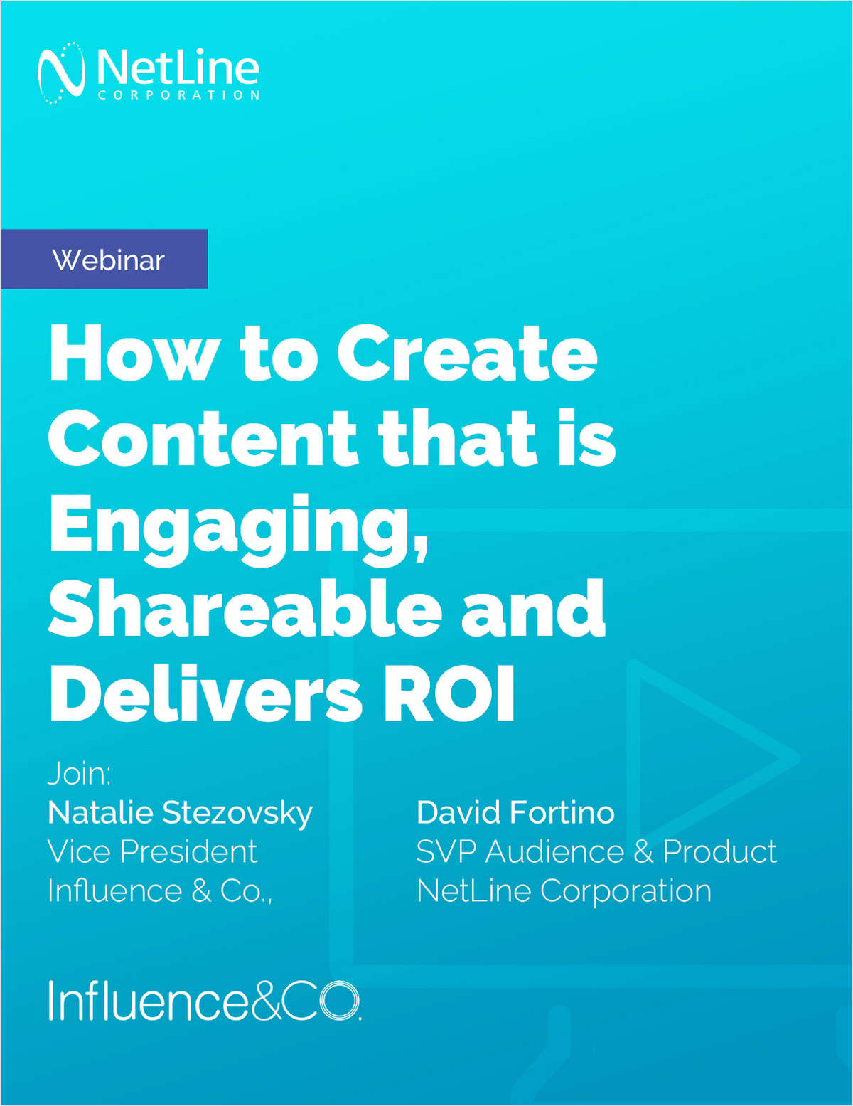 Webinar: How to Create Content that is Engaging, Shareable and Delivers ROI