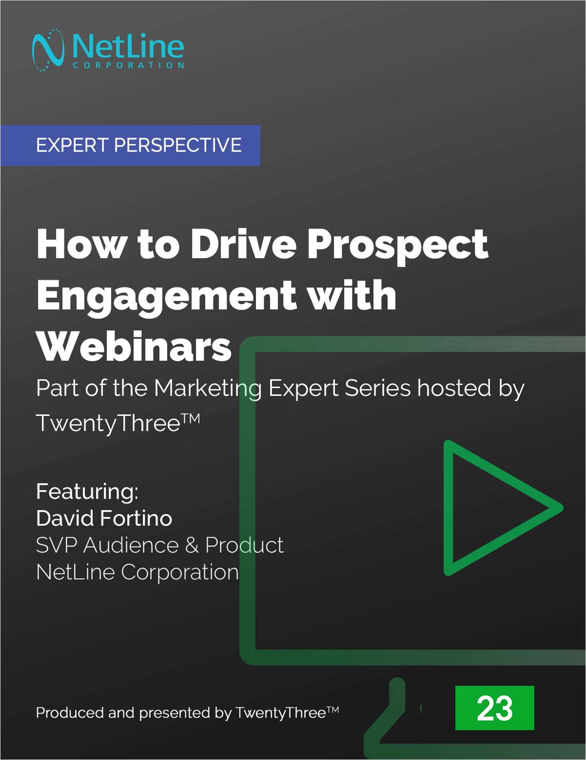 How to Drive Prospect Engagement with Webinars