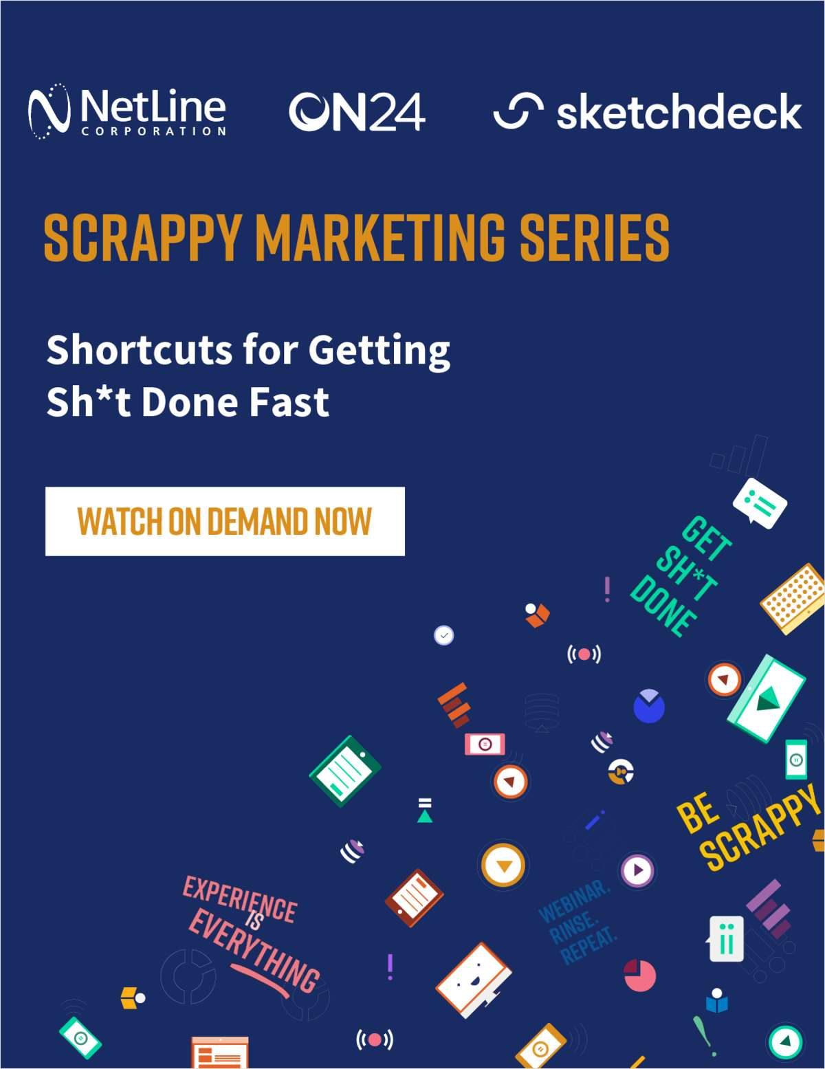 Scrappy Marketing Series: Shortcuts for Getting Sh*t Done Fast