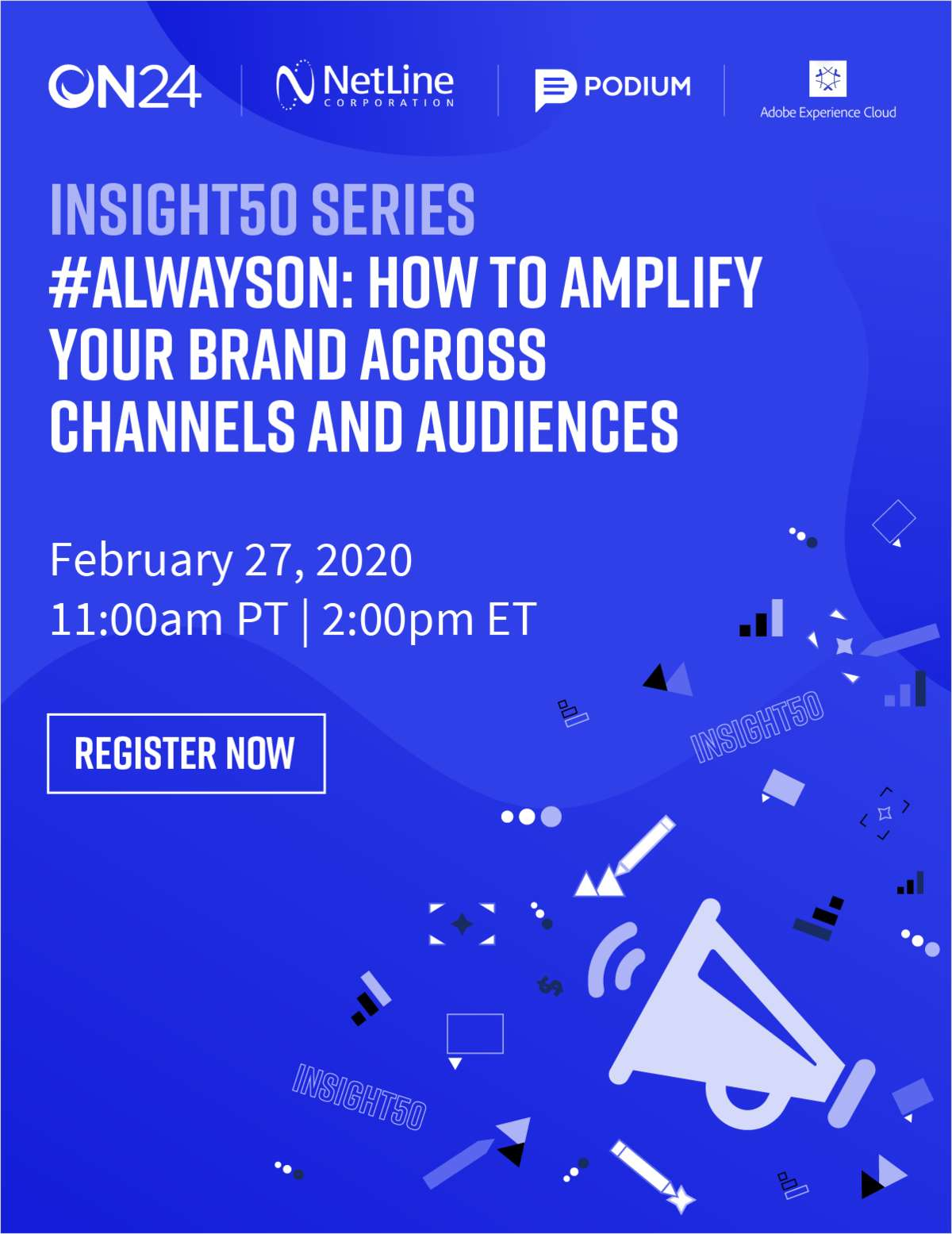 #AlwaysOn: How to Amplify Your Brand Across Channels and Audiences