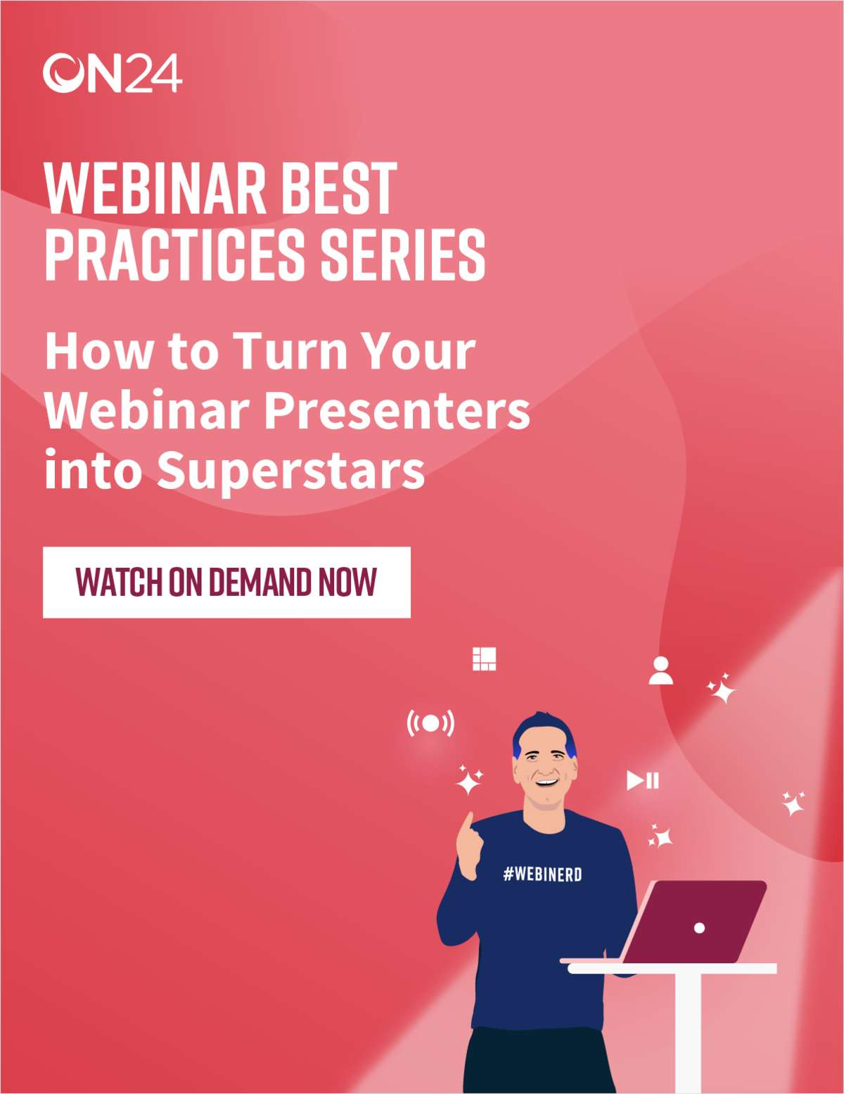 How to Turn Your Webinar Presenters into Superstars