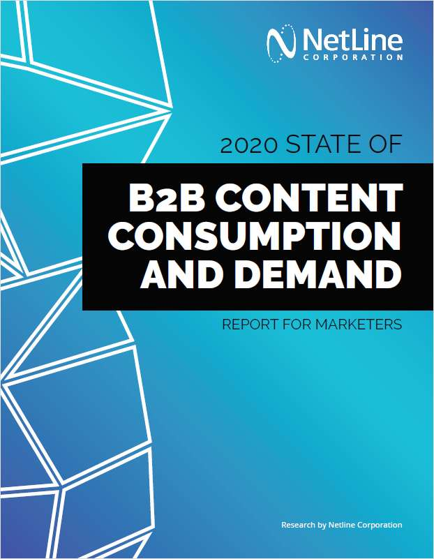 2020 State of B2B Content Consumption and Demand Report for Marketers