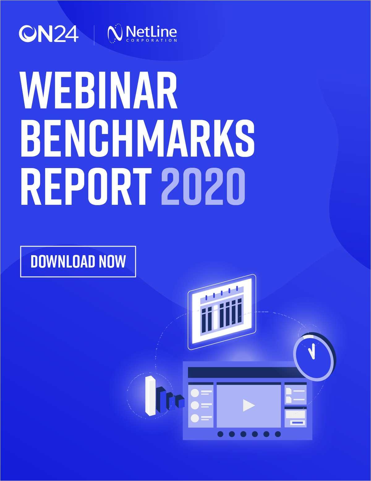 Webinar Benchmarks Report 2020