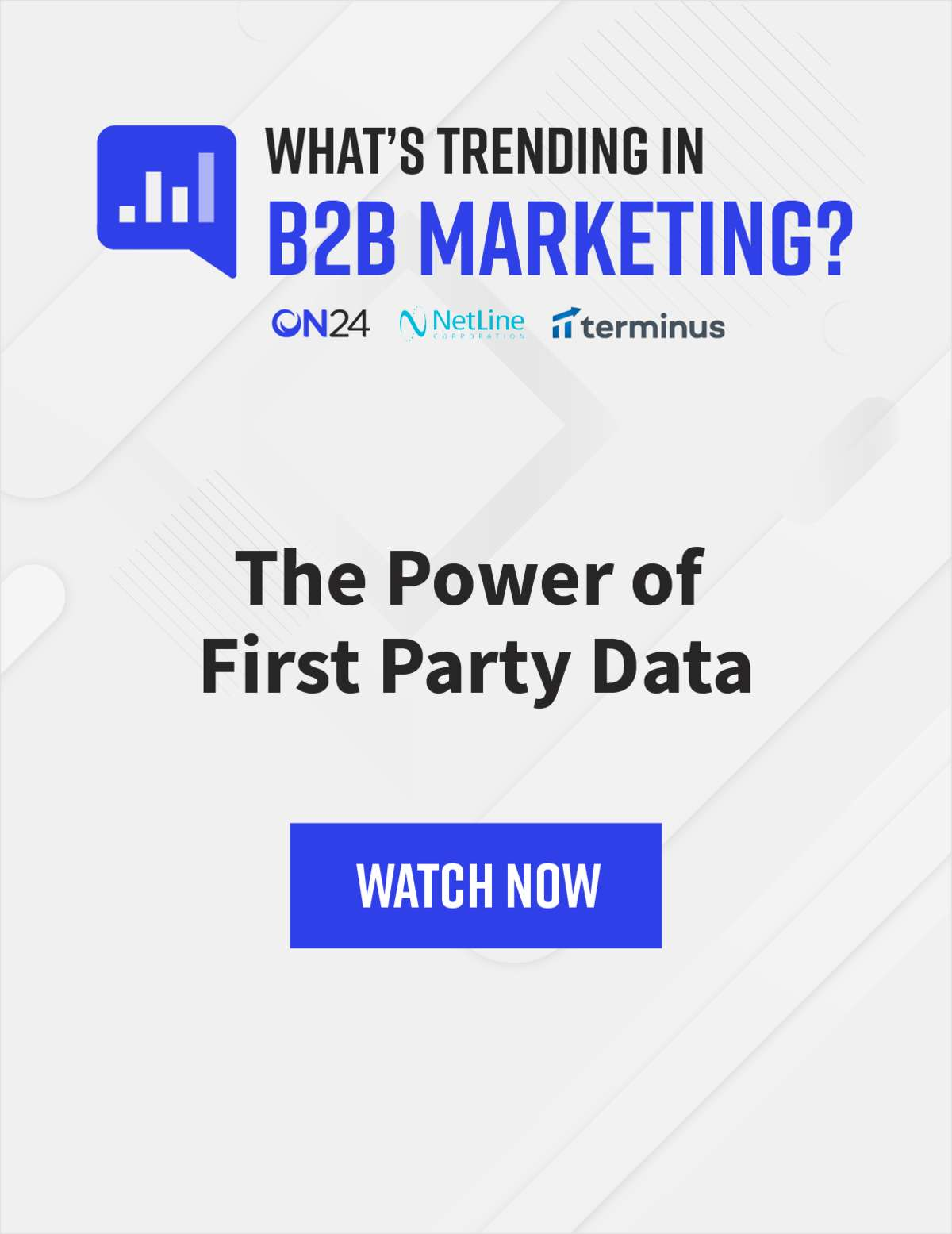 What's Trending in B2B Marketing? The Power of First Party Data