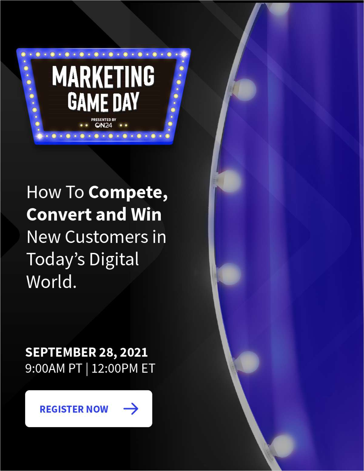 Marketing Game Day: How to Compete, Convert and Win New Customers in Today's Digital World