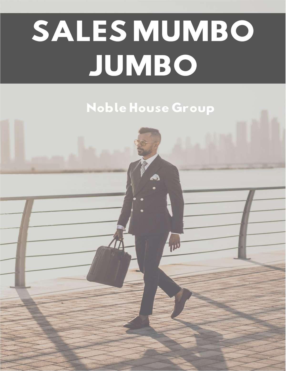 Sales Mumbo Jumbo