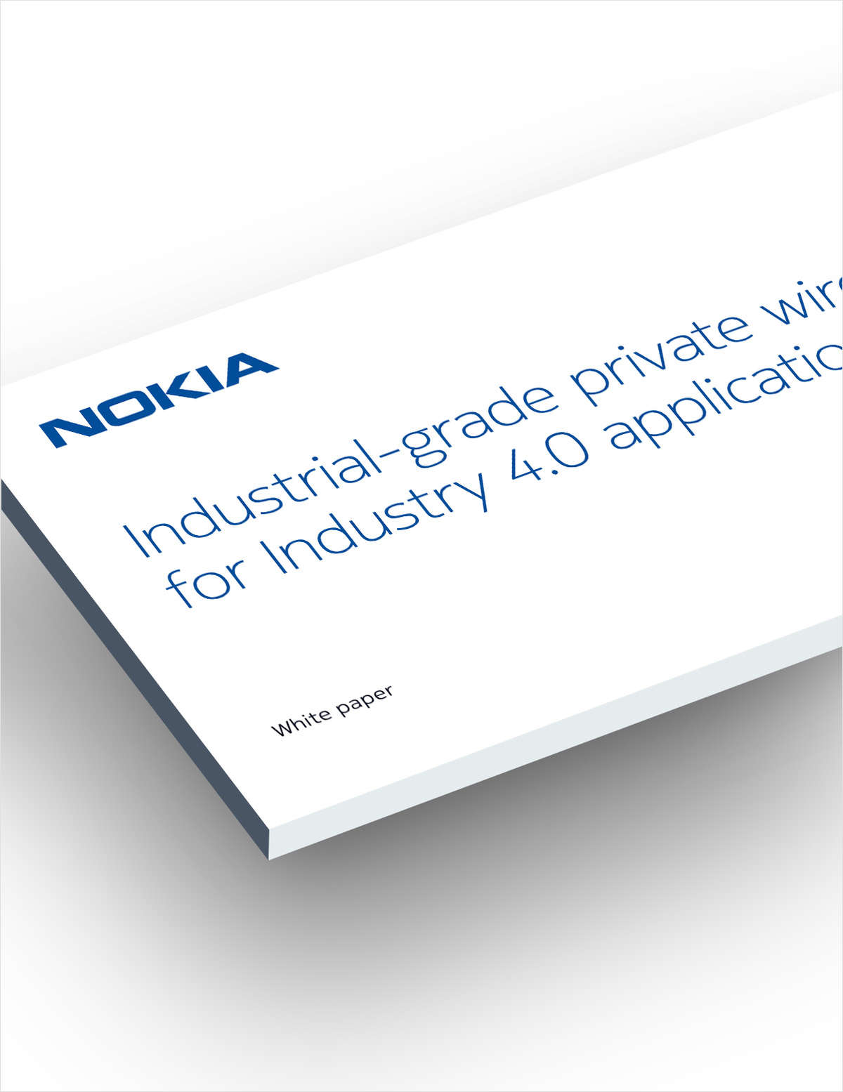 Industrial-grade Private Wireless for Industry 4.0 applications