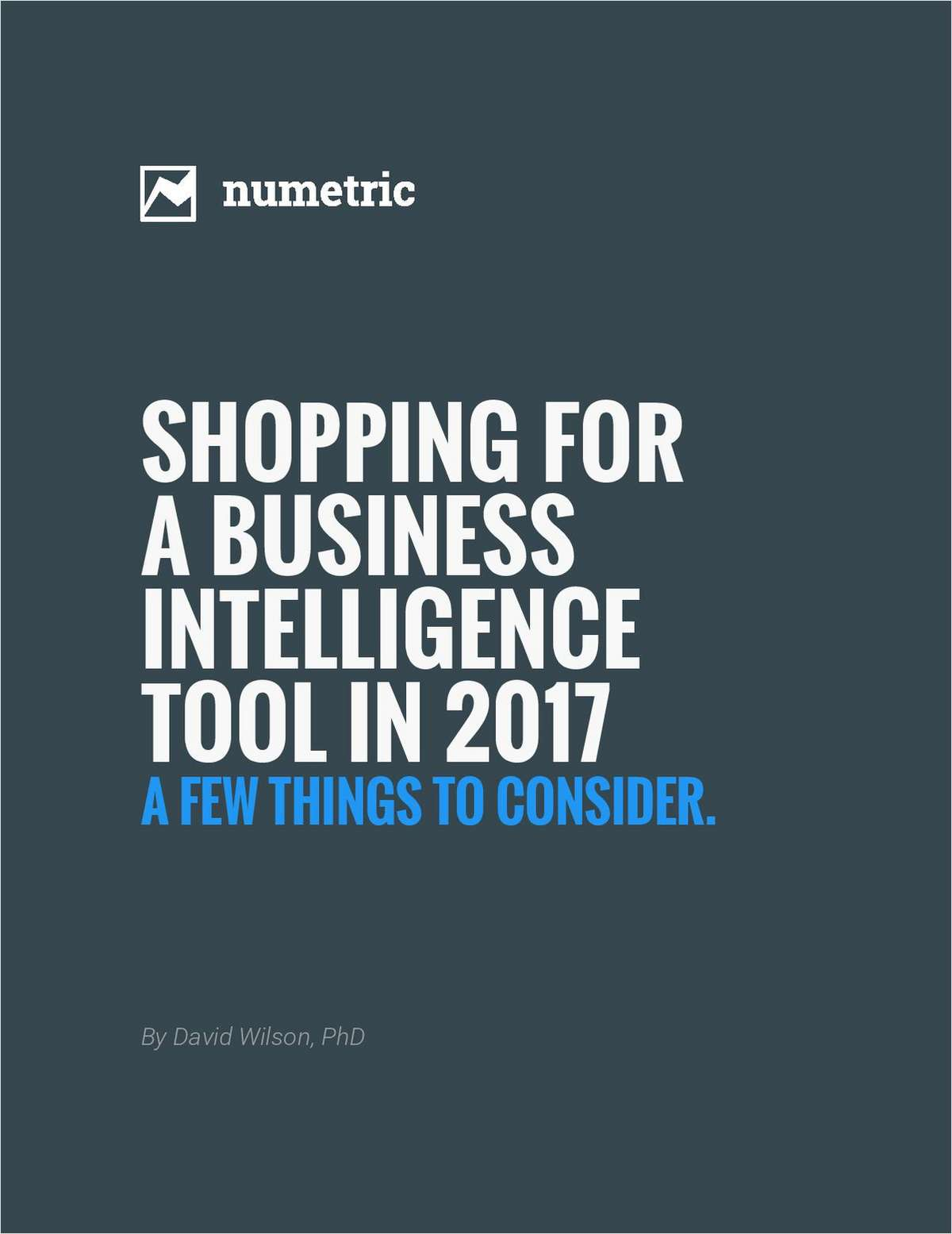 Shopping For A Business Intelligence Tool in 2017