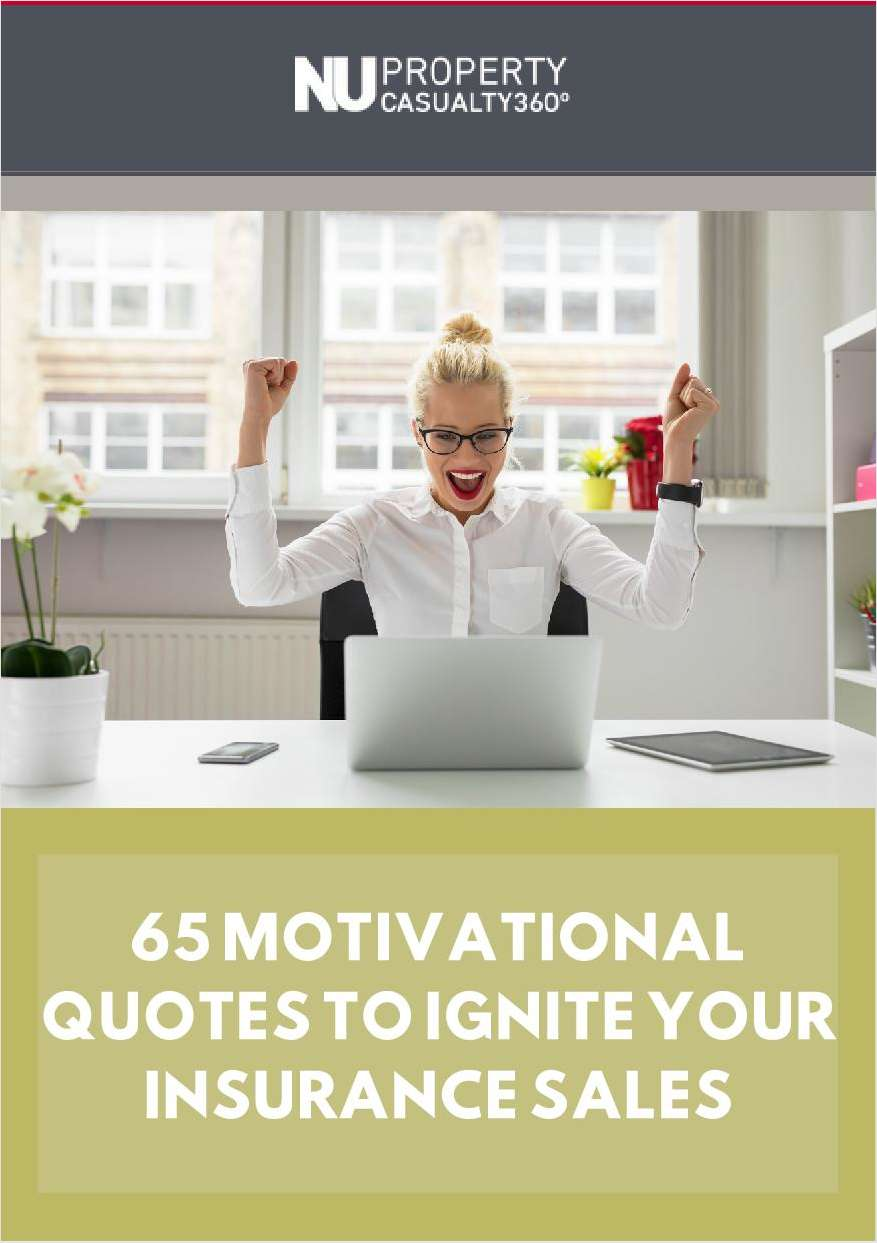 65 Motivational Quotes to Ignite your Insurance Sales